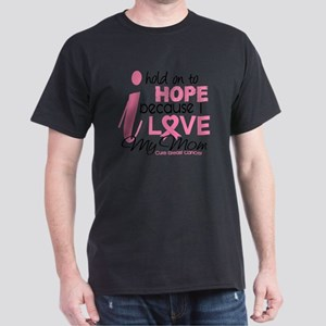- Hold on to Hope Mom BC Dark T-Shirt