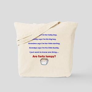 lumpy Tote Bag