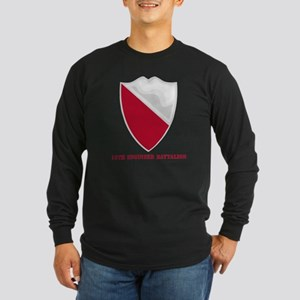 DUI-15-Engineer-Battalion Long Sleeve Dark T-Shirt