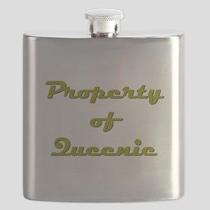 Property Of Queenie Female Flask
