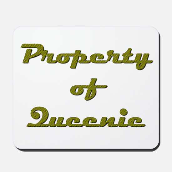 Property Of Queenie Female Mousepad