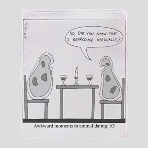 Awkward Moments in Animal Dating #3 Throw Blanket