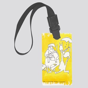 Yellow series 3 Large Luggage Tag