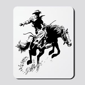 bronc-bow Mousepad
