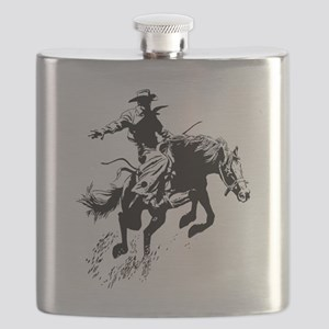 bronc-bow Flask