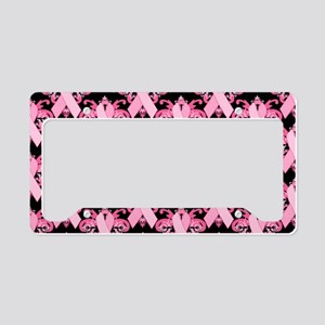 PinkRibHLLLPbLaptp License Plate Holder
