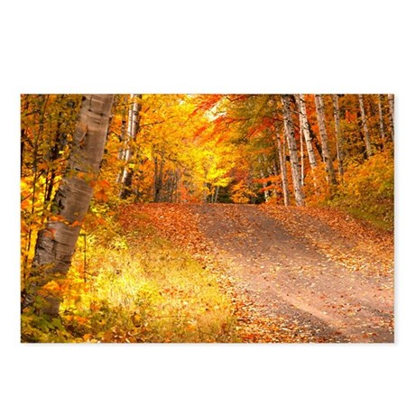 AutumnFoliageRural_9X12 Postcards (Package of 8)