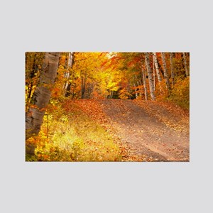 AutumnFoliageRural_9X12 Rectangle Magnet