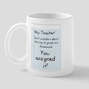 Hey Teacher! Mug