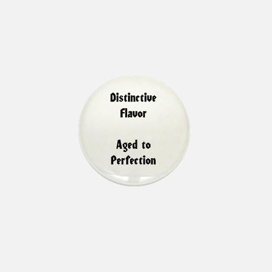 Distinctive Flavor Mini Button