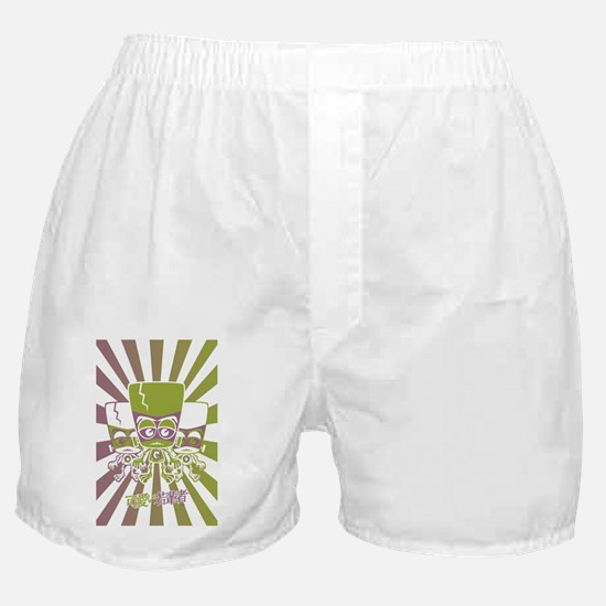 CreaturePostcardStencil Boxer Shorts