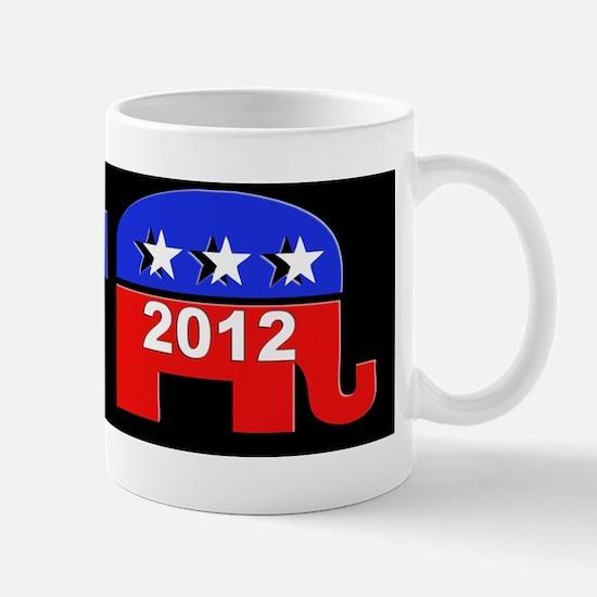 Republicain Sticker Mug