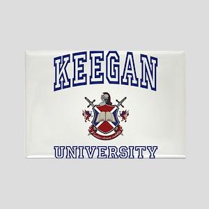 KEEGAN University Rectangle Magnet