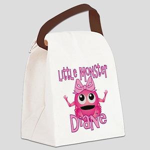 diane-g-monster Canvas Lunch Bag