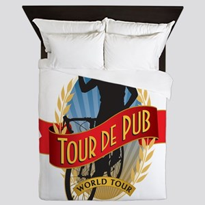 tour de pub Queen Duvet