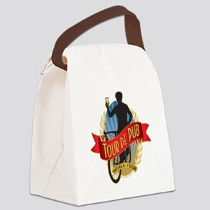 tour de pub Canvas Lunch Bag