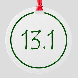 Green 13.1 Round Ornament