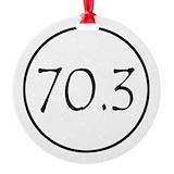 70.3 Round Ornament
