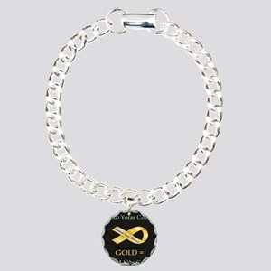 Know your colors -GOLD = Charm Bracelet, One Charm