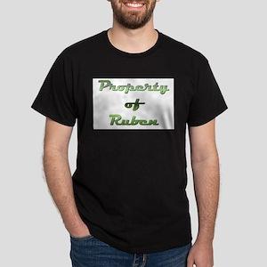 Property Of Ruben Male Dark T-Shirt