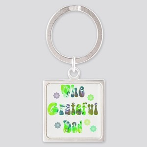 g_d_2 Square Keychain