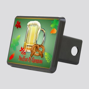 Beer and Pretzels-Breakfas Rectangular Hitch Cover