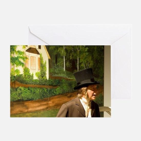 Interactive museum displaynd, Charlo Greeting Card