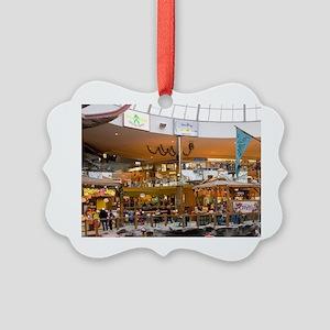 Edmonton. West Edmonton Mall. Can Picture Ornament