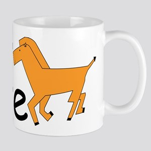 H is for Horse Mug