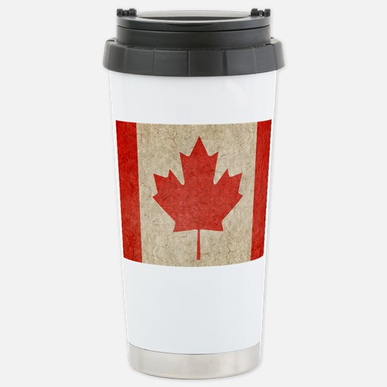 Canada Faded Shoulder Stainless Steel Travel Mug