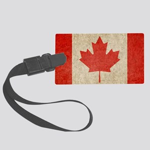 Canada Faded Shoulder Large Luggage Tag