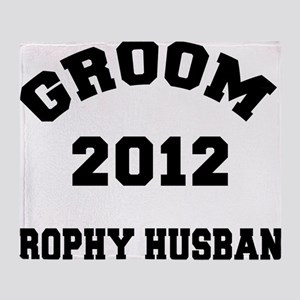 groom532012Wlight Throw Blanket