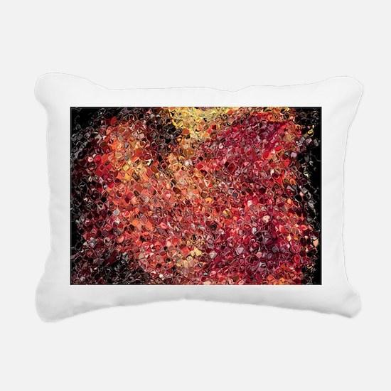 gems Rectangular Canvas Pillow