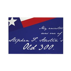 Austin's Old 300 Rectangle Magnet (10 pack)