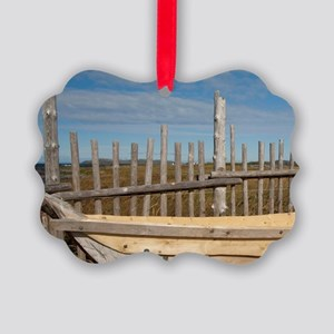 L'Anse Aux Meadows. Archaeologica Picture Ornament