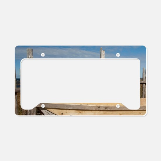 L'Anse Aux Meadows. Archaeolo License Plate Holder