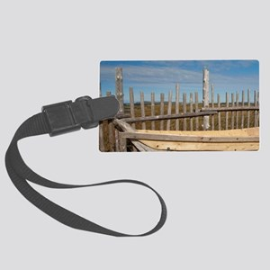L'Anse Aux Meadows. Archaeologic Large Luggage Tag