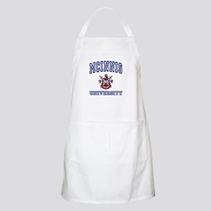 MCINNIS University BBQ Apron