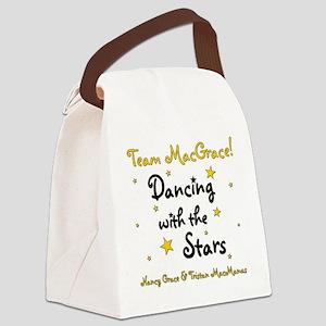 DWTS-NancyGrace Canvas Lunch Bag