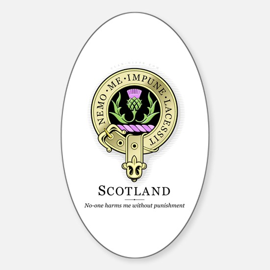 Order of the Thistle Oval Decal