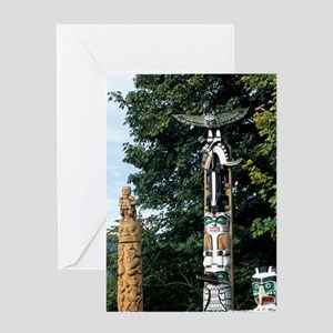 Stanley Park, Vancouver British Colu Greeting Card