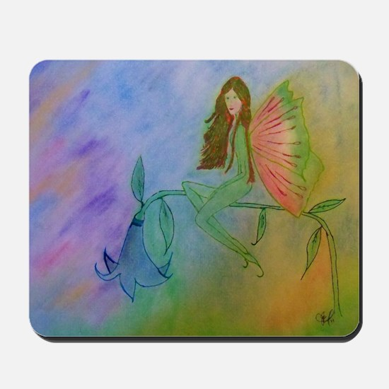 flower fairy CARD Mousepad