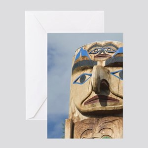 Thunderbird Project Featuring Tsesha Greeting Card