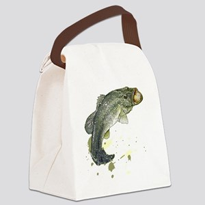 Large Mouth Canvas Lunch Bag