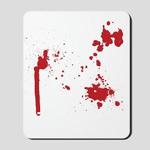 Keep Calm Kill Zombies blk Mousepad