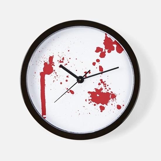 Keep Calm Kill Zombies blk Wall Clock