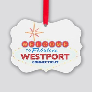 WESTPORT Picture Ornament