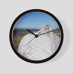 L'Anse Aux Meadows. Norstead Viking Vil Wall Clock