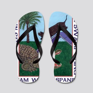 2011 Logo Clear Small Flip Flops