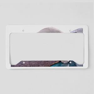 Polar Bear License Plate Holder